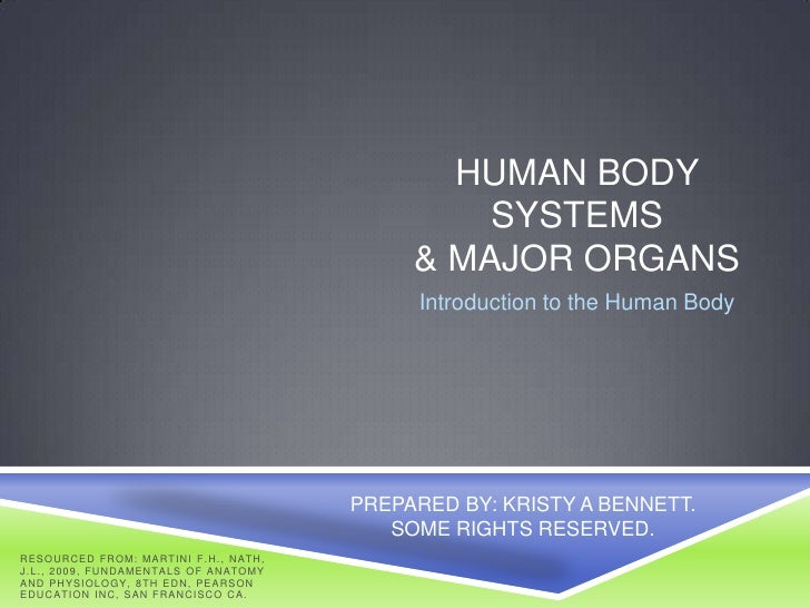 HUMAN BODY                                                                        SYSTEMS                                 ...
