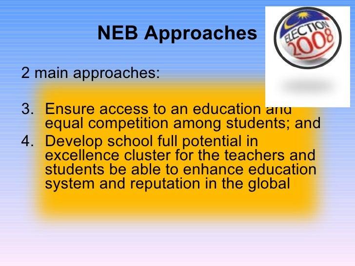 Developing human capital in national education blueprint 2006 2010 blueprint 2006 2010 10 neb approaches malvernweather Choice Image
