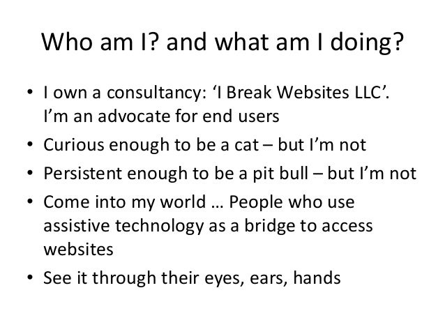Human face-of-accessibility Slide 2