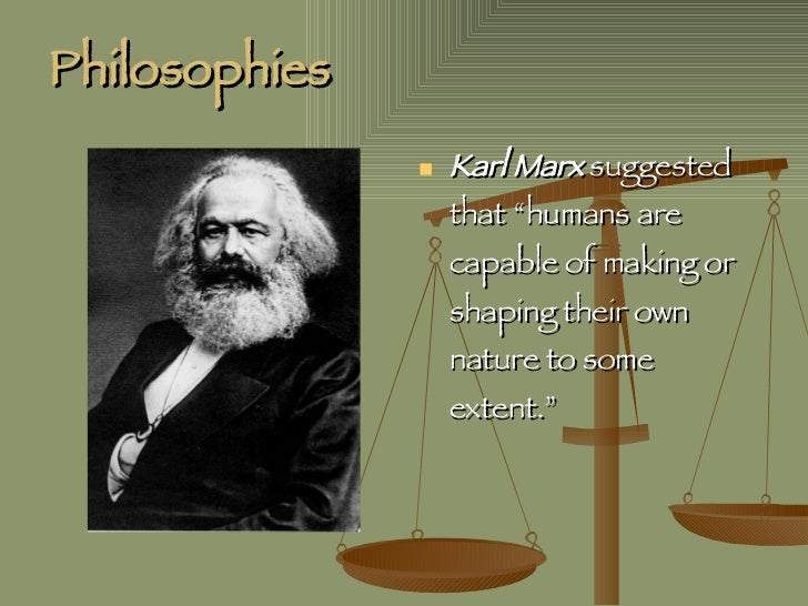 Marx's theory of human nature