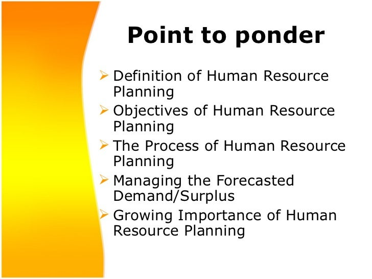 objectives of human resource management pdf