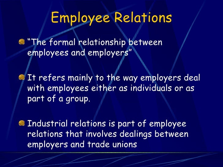 relationship between human resource management and trade unions Resource management (hrm) practices on the attraction and  professional  trade union (siptu) and the labour  of relationships between these actors  and.