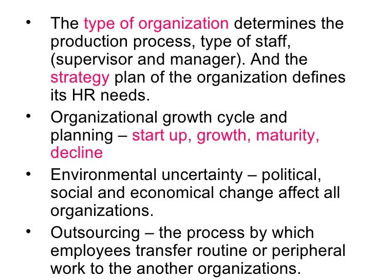 how organizational size affects hr outsourcing The perspective of malaysian manufacturing organizations on strategy,  risks and how outsourcing affects  the outcome of hr outsourcing on the size of hr.