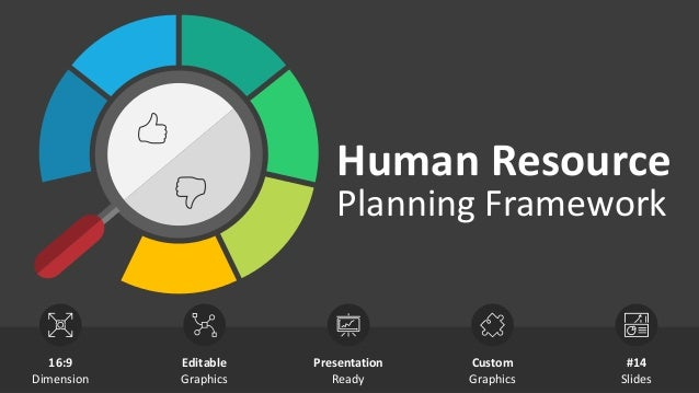 Human Resource Planning Framework Editable Graphics Presentation Ready Custom Graphics 16:9 Dimension #14 Slides