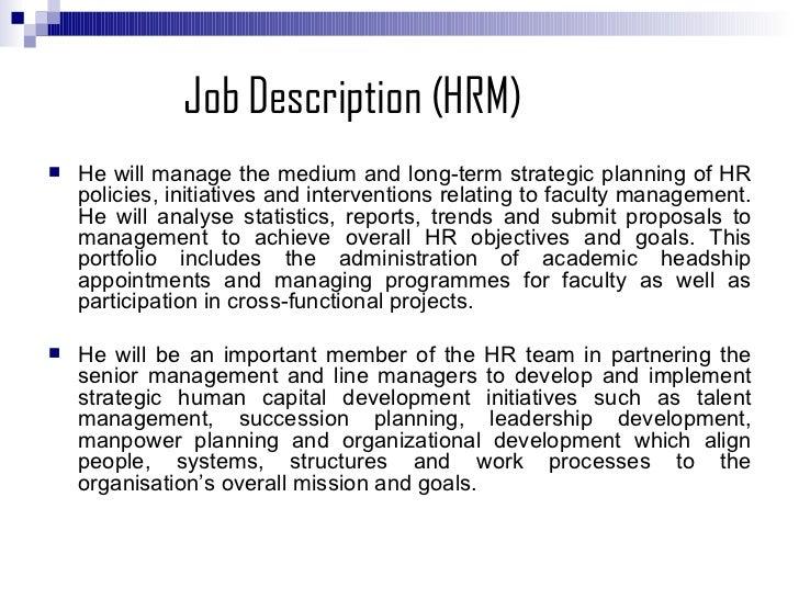 Amazing Human Resources Director Job Description Images - Best