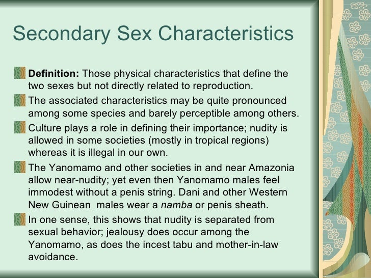 A sexual humans definition