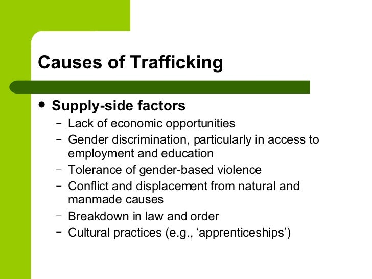 Human Trafficking: Definition, Prevalence, and Causes
