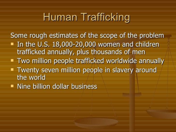 Human Trafficking Modern Day Slavery