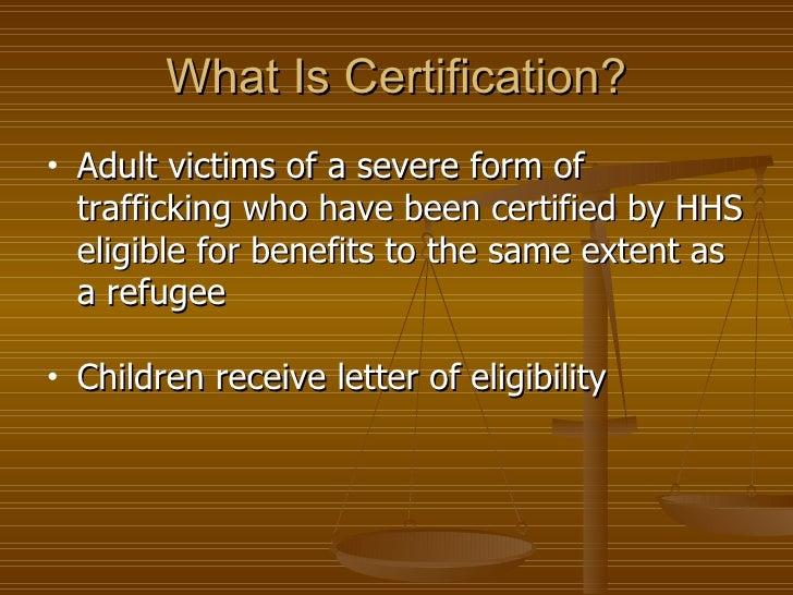 Human trafficking: A modern day slavery