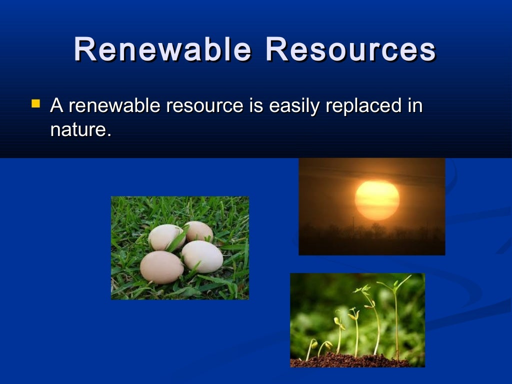 Effect of human activities on natural resource