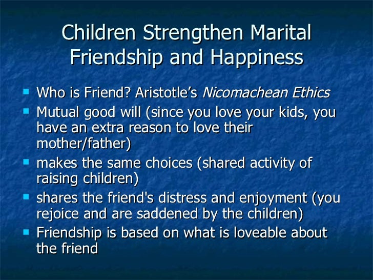 an analysis of the three types of friendship in aristotles nicomachean ethics Canadian an analysis of friendship in nicomachean ethics  aristotles the nicomachean ethics  in nicomachean ethics that there are three types of.