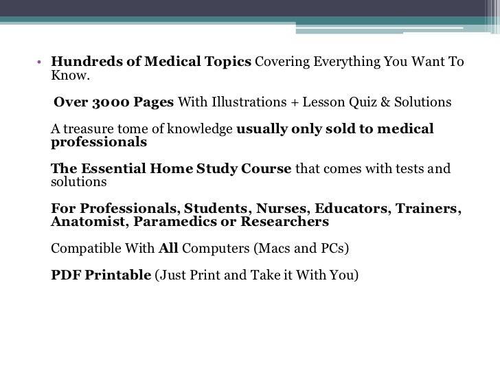 Human Anatomy & Physiology Home Study Course | …