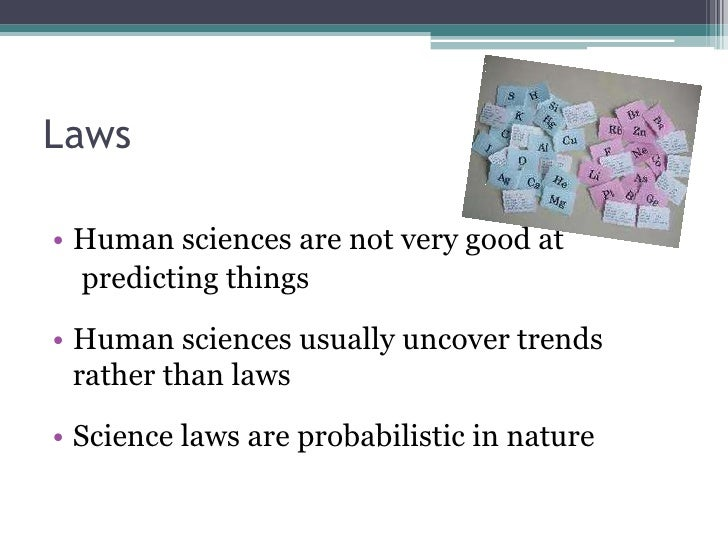 compare and contrast natural science and social science