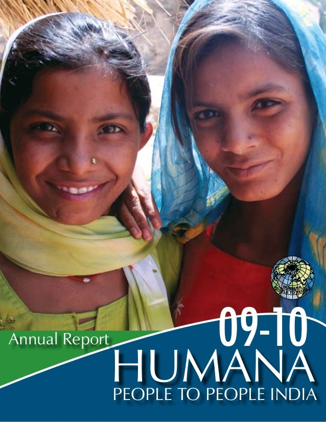 People to People India Annual Report 09-10 Humana