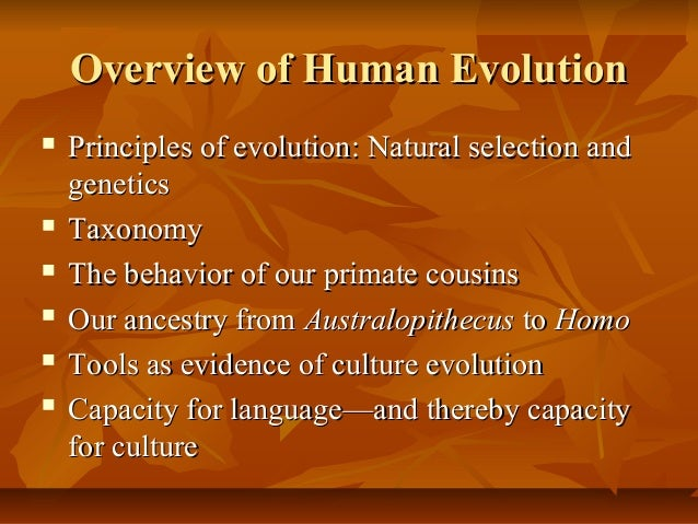 a paper on human biology and evolution Biology papers - human evolution  in this research paper i will examine: human physical traits that define their species,  - human evolution human evolution,.