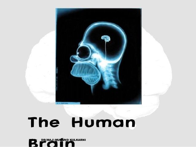 The Human DR(MAJ) MUKUND KULKARNI