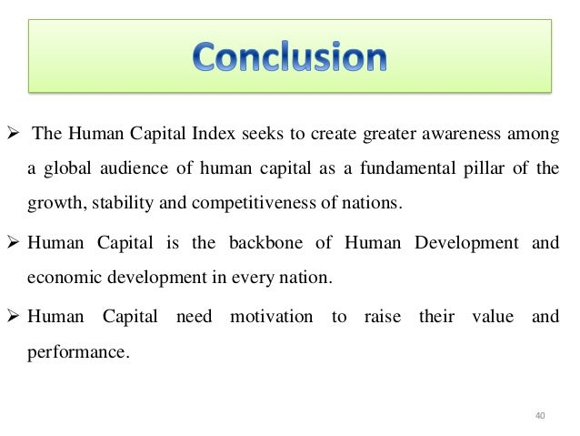 Definition: Human Capital Index