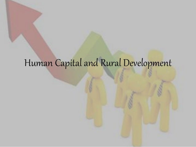 develop human capital syllabus Introduction to human resource management and development (hrm&d)   management of emotion –using human functions to enhance emotional.