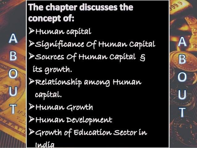 Human capital formation Slide 2