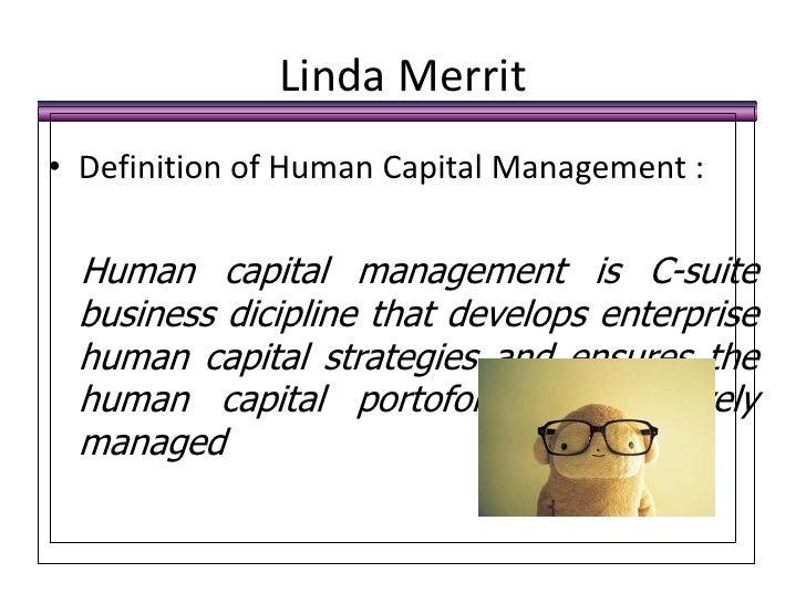 Human capital definition pdf