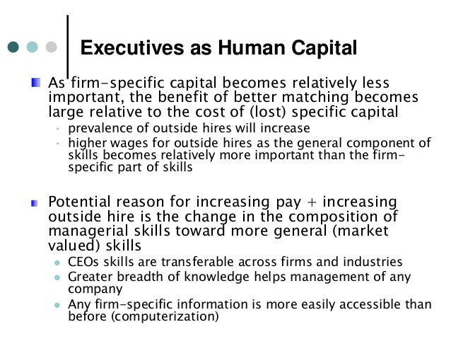 human capital theory Makers that investing in human capital should be a priority of  theory are the  human capital that includes education, trainings and other.