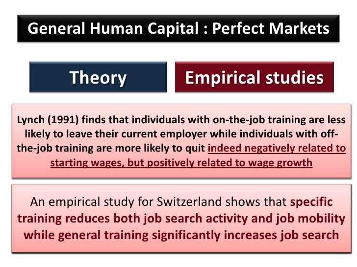 essay on human capital theory Managing human capital in a business commerce essay motivation is a set of dynamic forces that create within every bit good as beyond an person 's will or wants.
