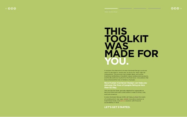 field guide human centred design