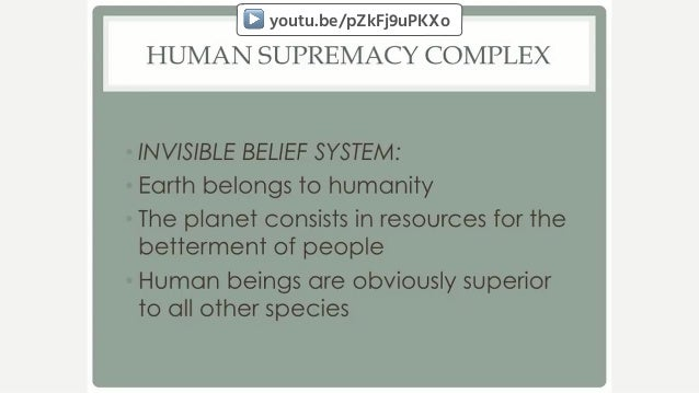 Eileen Crist (2014): Confronting Anthropocentrism ▶ youtu.be/pZkFj9uPKXo
