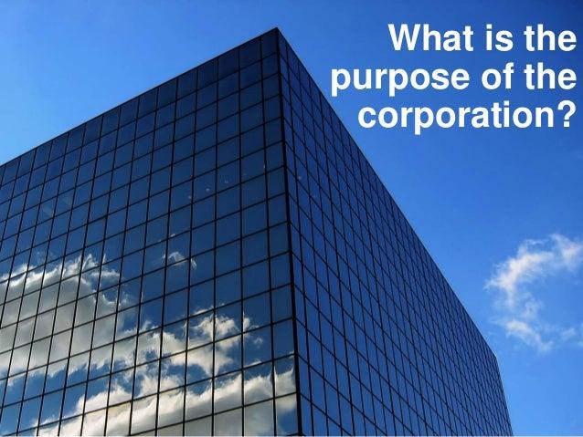 Shareholder value?