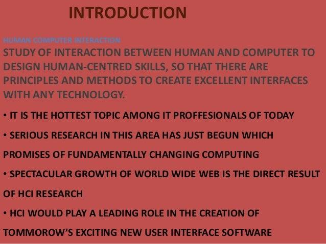 Human  computer interaction Slide 2