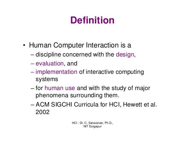 Human Computer Interaction Essay