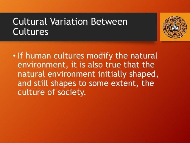 Human Cultural Variation Social Differences
