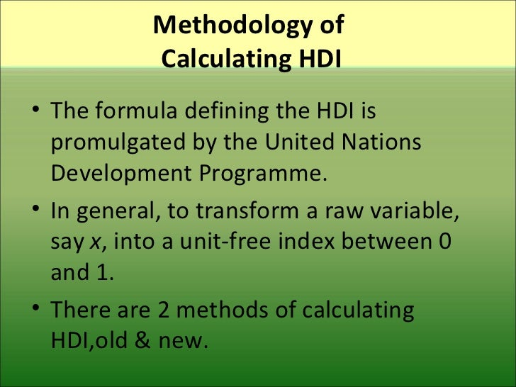 calculating the human development index Prof dr kwon, dae-bong president , krivet  individual development and national economy growth  human capital and economic performance should be considered .