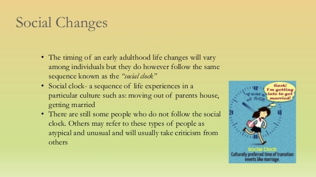 social development in adulthood Erikson's stages of development this is also a very social stage of development and if we experience unresolved middle adulthood is also the time when.