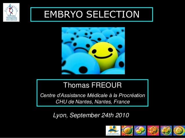 embryo selection