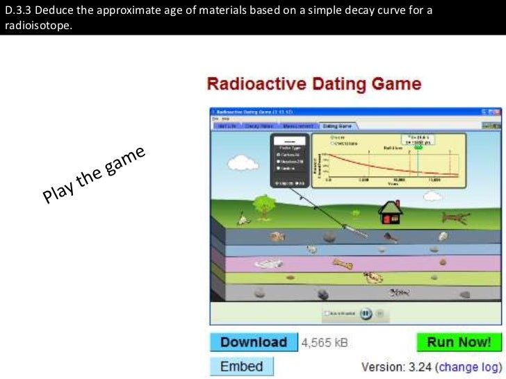 radiometric dating biology definition