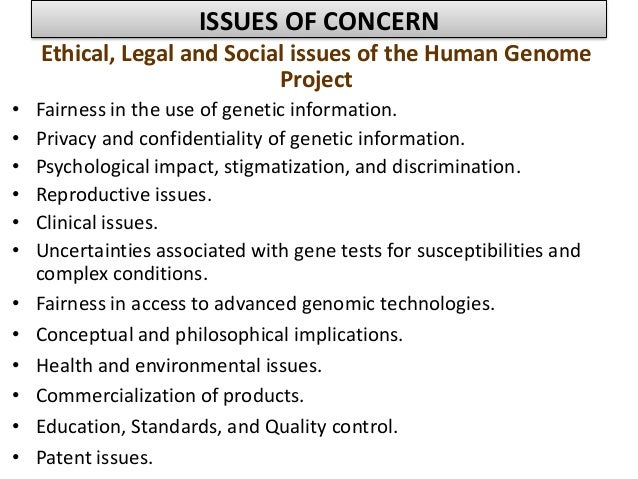 human genome project issues essay Human genome project were declared complete on april 14, 2003 using the working draft announced on february 12, 2001 (see science: human genome special issue ), scientists from around the world (the international human.