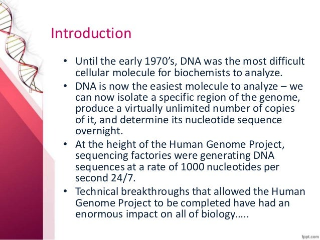 Essays what impact has the human genome project on our