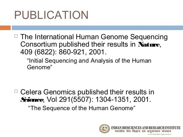 an analysis of the human genome project in international genetic research project Human genome project: human genome project, an international collaboration that determined, stored, and rendered publicly available the sequences of almost all the genetic content of the chromosomes of the human organism, otherwise known as the human genome.