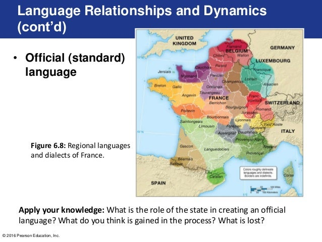 What is a geographic language, and what are its causes 56