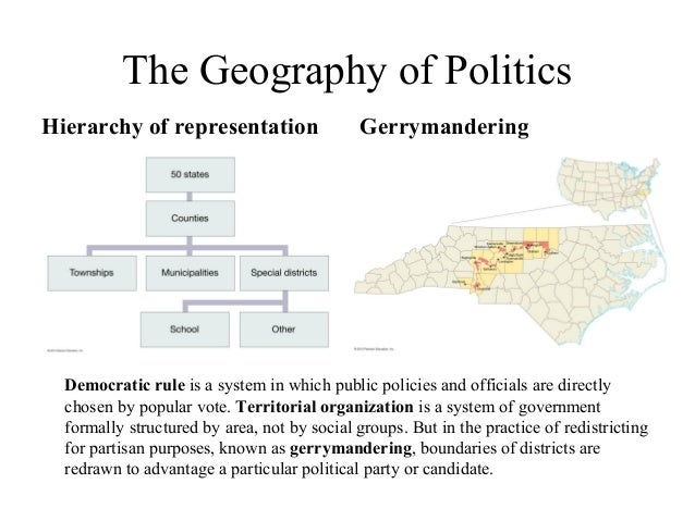 Gerrymandering - Proving All Politics Is Local