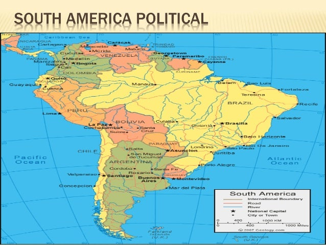 Human geography of latin america