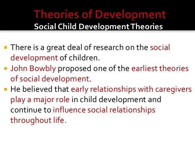 Social development throughout the life span