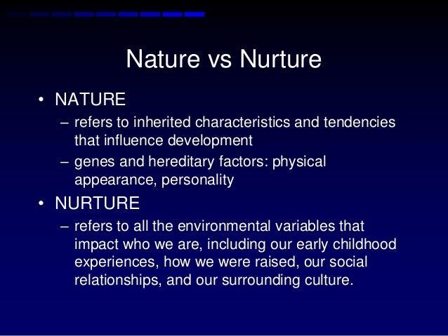 nature and nurture in human development