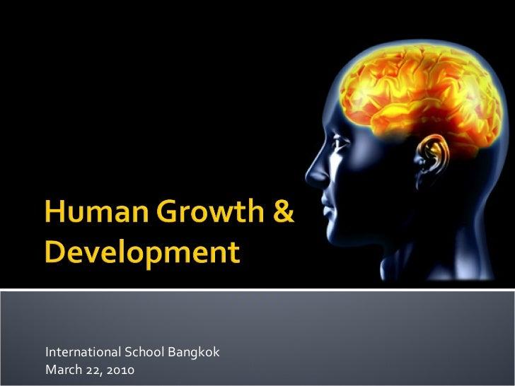 International School Bangkok March 22, 2010