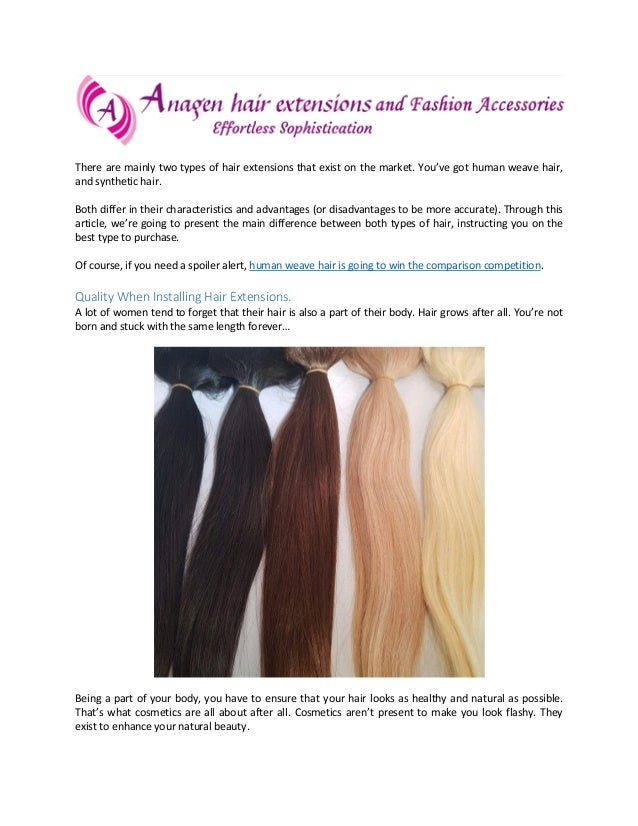 Human Hair Weave Your Best Choice For Hair Extensions