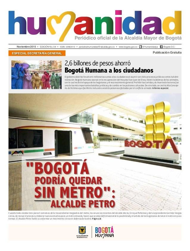 Periódico Humanidad Edición 59