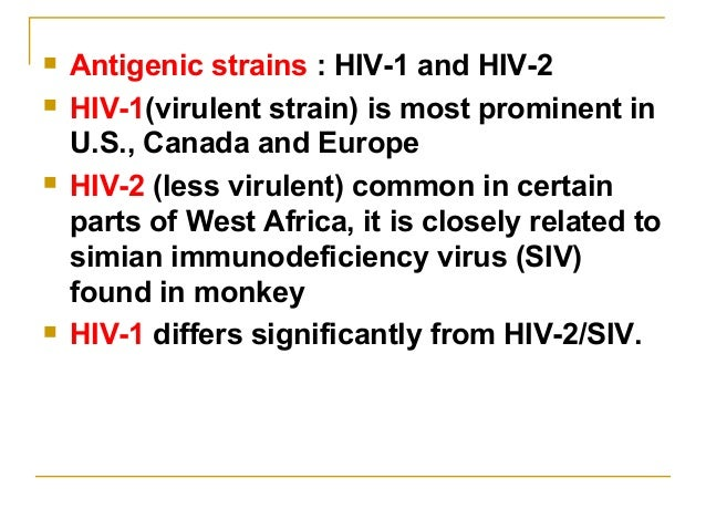 an introduction to the hiv virus human immunodeficiency virus that causes aids In 2003, nearly five million people contracted the human immunodeficiency virus (hiv) that causes aids, the greatest number of new infections in a single year since aids was first officially recognized as a disease in 1981.