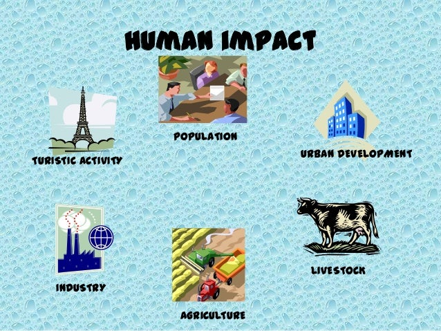 Human impact in the environment