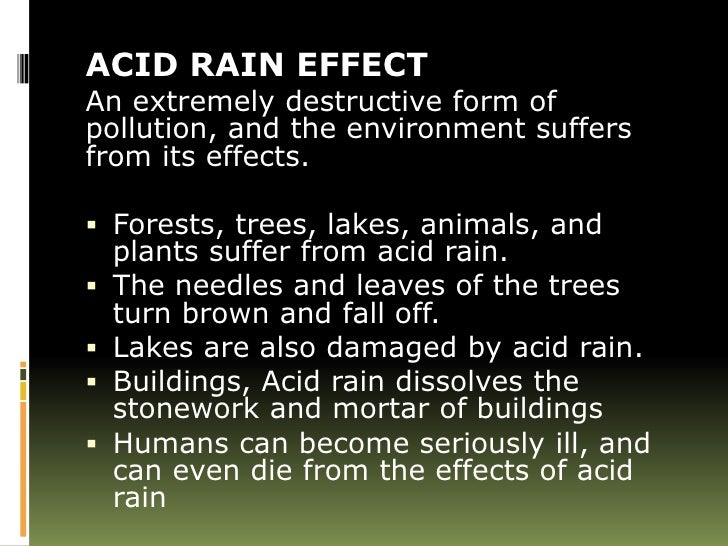 The gallery for --> Acid Rain Effects On Human Skin